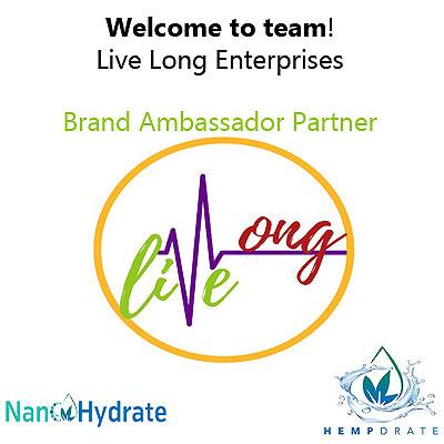 Live Long Enterprises joins the Nano Hydrate team as a Brand Ambassador